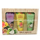 cheap oem private label olive lavender lemon home and spa bath shower gift set