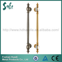 Foshan luxury glass entrance door pull handle