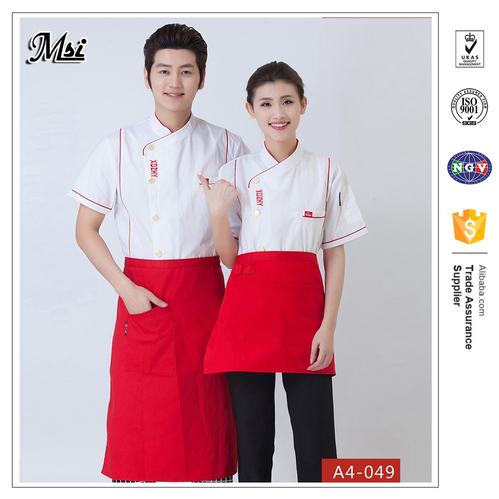 Catering uniforms waiter vest cook uniform corporate for sale uniform suppliers