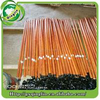 Direct Manufacturer Supplies Bulk Dowel Rod PVC Coated Wooden Handle for Brooms