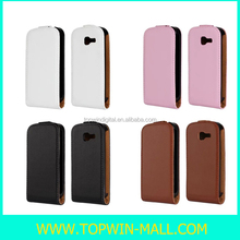 New Style!! Up-Down Flip Cover Wallet Case For Samsung Galaxy Trend S7392 S7390