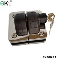two sided gate latch, side pull latch, magnetic door latch