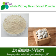 ISO HACCP KOSHER HALAL GMP Factory Supply Top Quality White Kidney Bean Extract Powder