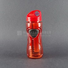 Clear fruit Infuser Plastic, plastic sport water bottle with ice cube