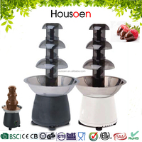 3 layers plastic AS large chocolate fountain stand prices