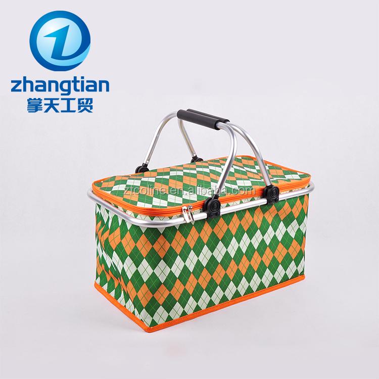 Picnic Basket Jakarta : Factory supply wholesale polyester wicker picnic basket