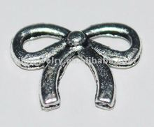 ancient zinc bowknot fashion cute bowknot metal accessory design