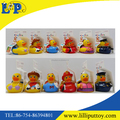 Hot sellong cute pyrometric bathing duck toy