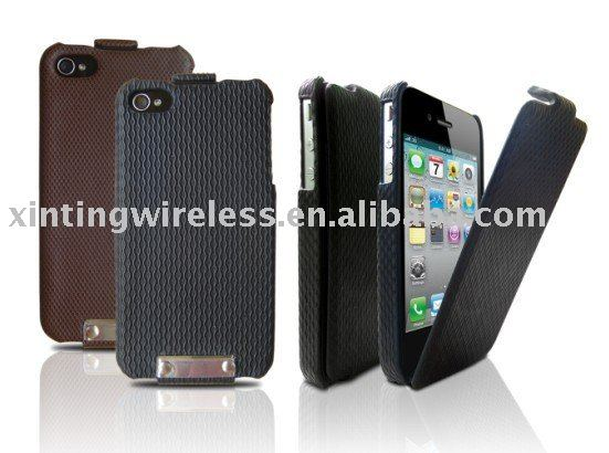 Flip Leather Case Pouch For Apple iPHONE 3G 3GS 4G,Droid X ,i9000,9800