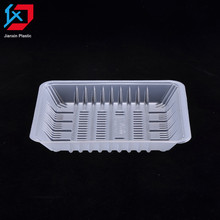 Custom design strawberries vegetable plastic trays packaging in guangzhou