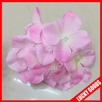 light pink decorative hydrangea preserved flower heads wholesale
