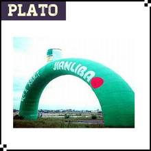 Durable inflatable entrance arch designs for advertising/ promotional inflatable cheap arch door