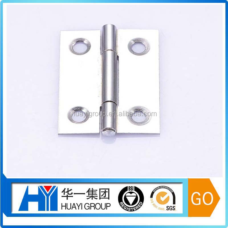 Small stainless steel OEM hinges for furniture