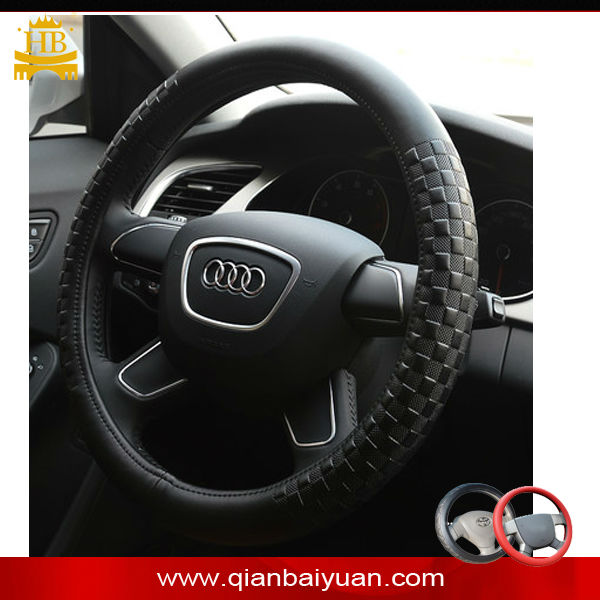 Micro fiber steering wheel cover accessories for BMW, AUDI