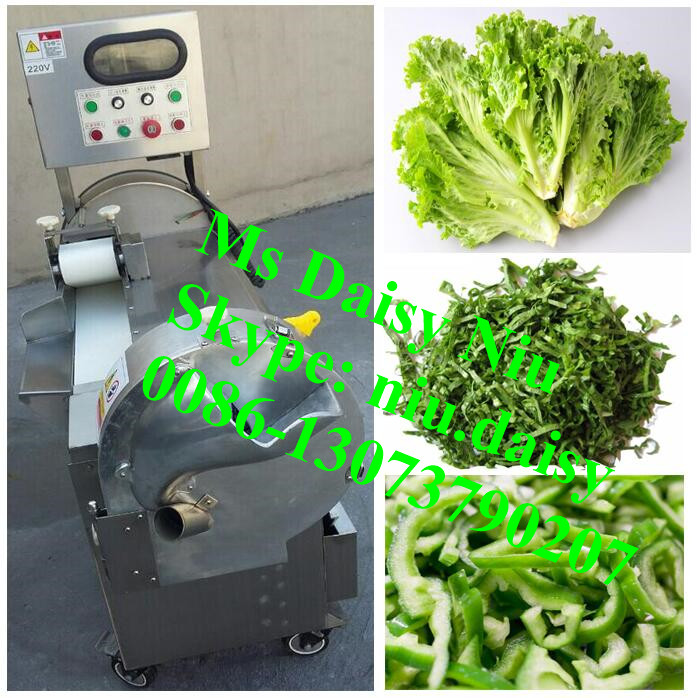 commercial leaf vegetable cutting machine/Parsley vegetable cutter/Leek Kale cutting machine
