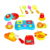ht-10925001E Kitchen set Kids pretend toys emulational kitchenware set 19pcs