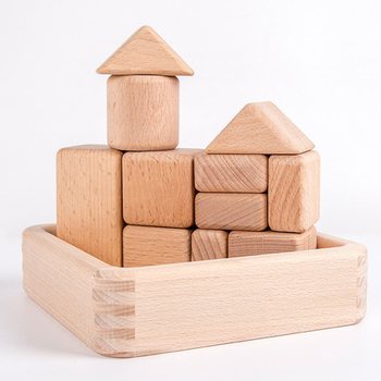 Wooden Block Tower Extra Stacking Game Educational Toys