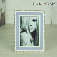 Jinnhome High Quality Good Memory Metal With Crystal Picture Photo Frame Alloy Picture Frame Family lover Photo Frame