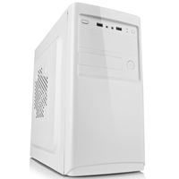 Custom logo cheap computer micro ATX white case
