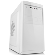 computer parts and accessories OEM custom branded desktop slim micro ATX white full tower table pc computer case