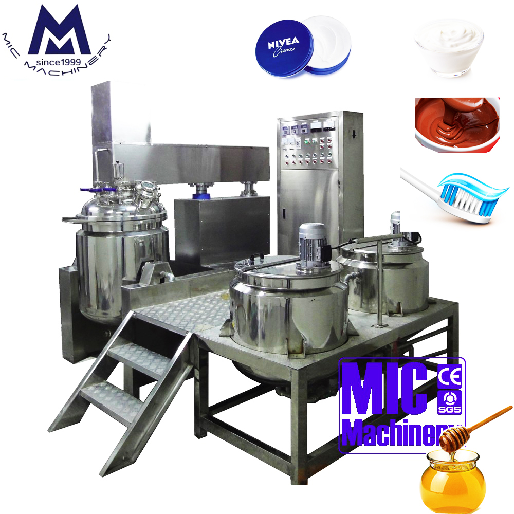 MIC-650L auto lifting homogenizer mixer with ce