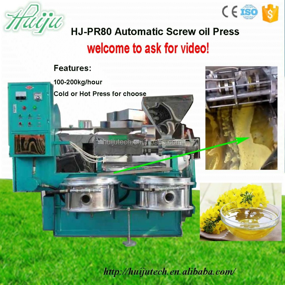 Hot Sale flower oil extraction machine Automatic neem oil extraction 100-200kg/hour