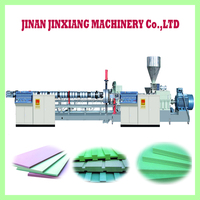 XPS polystyrene blocks making machine