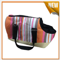 Portable travel pet dog tote bag