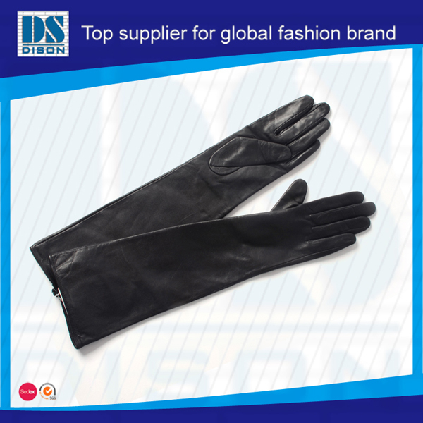Dison new cheap Ms calf leather gloves with wholesale price made in china