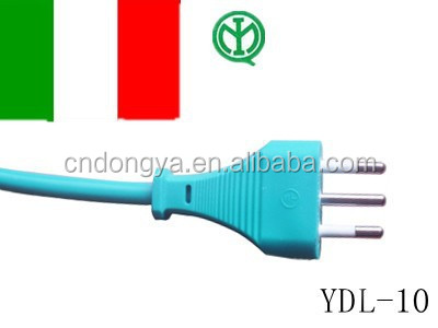 Italy IMQ approval c13 c14 connector power cord