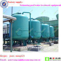 Water purification equipment swimming pool treatment