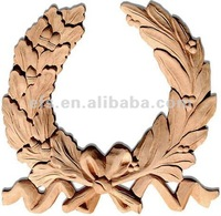 2014 Wreath Wood Carving (EFS-A-T446)
