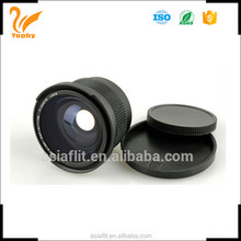 0.35x 52mm additional fisheye lens for D5100 D5000 18-55mm Lens