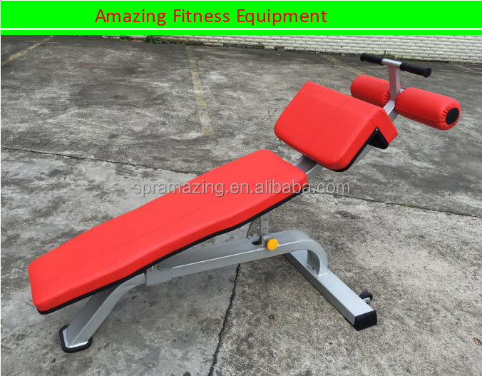 Gym equipment Guangzhou abdominal exercises bench AMA-9940A
