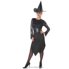 Witch charming girl sexy image Halloween costume