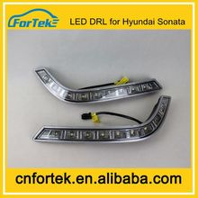 China Auto Parts Car Light Flexible Daytime Running Light Specific Led DRL for Hyundai Sonata