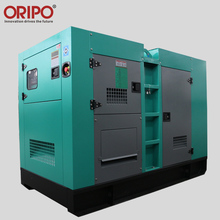 Famous engine brand provide magnet 25kva soundproof silent generator for home use