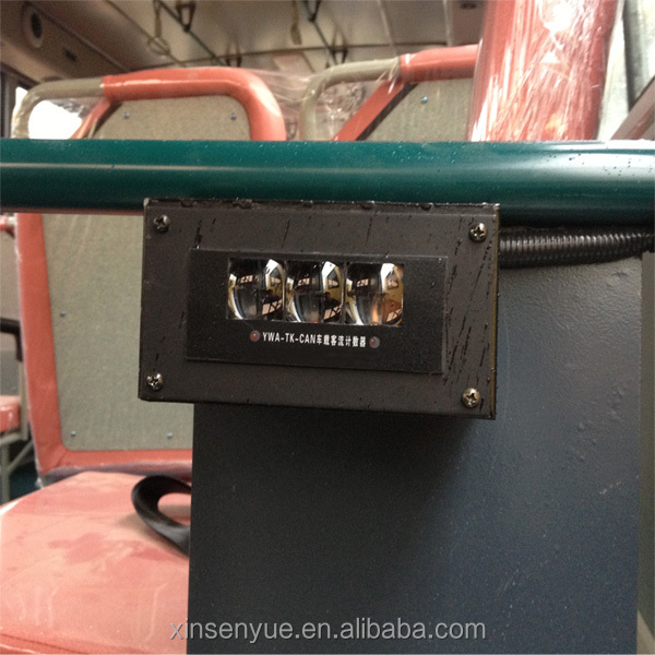 Bus automatic passengers sensor counter