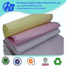 perforated carbonless paper