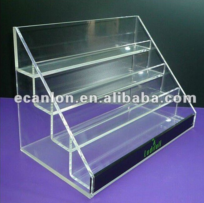 4 tiers Cigarette display stand/shop display/E-cigarette display