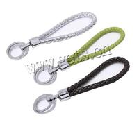 PU Cord Other Shape Heavy Duty Retractable Key Chain Metal Cord 787879