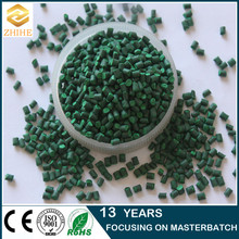 Sufficient toys dedicated plastic master batch use green masterbatch