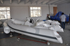 Liya 3.3m center console PVC yacht tender work baot mini water boat for sale