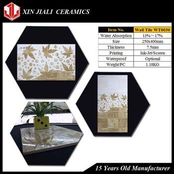 250x400MM WT0030 Ceramic Wall Tile