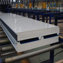 Insulated Roof Panels For 50mm Polyurethane Roofing Sheet