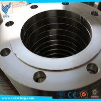 304L fully polished stainless steel flange with factory price