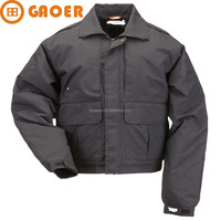 Cold police outdoor winter jacket