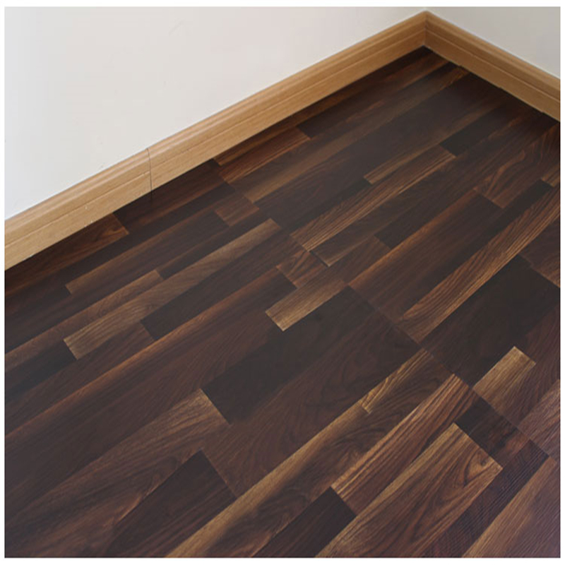 Dry back vinyl flooring with wood colors