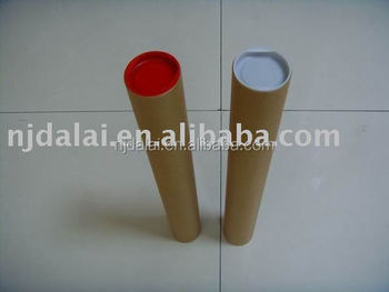 paper mailing tube end cap
