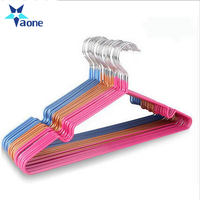 Chinese factory wholesale custom cheap velvet laundry clothes hanger